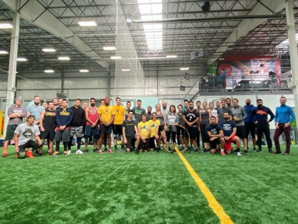 Club Members at Canlan Sportsplex